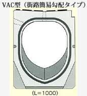 VAC型(街路簡易勾配タイプ)